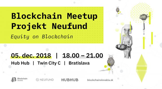 BlockchainSlovakia Blockchain Meetup – Projekt Neufund