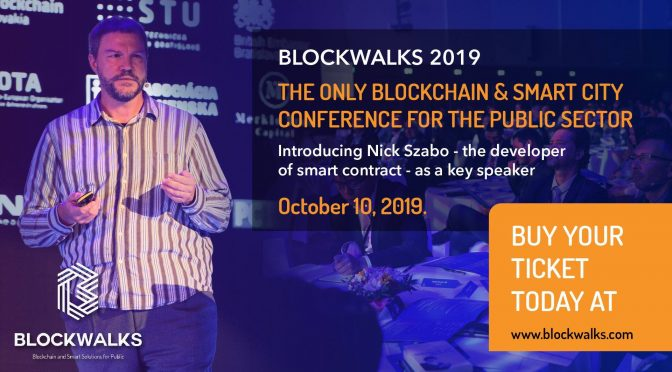 BlockchainSlovakia BLOCKWALKS 2019